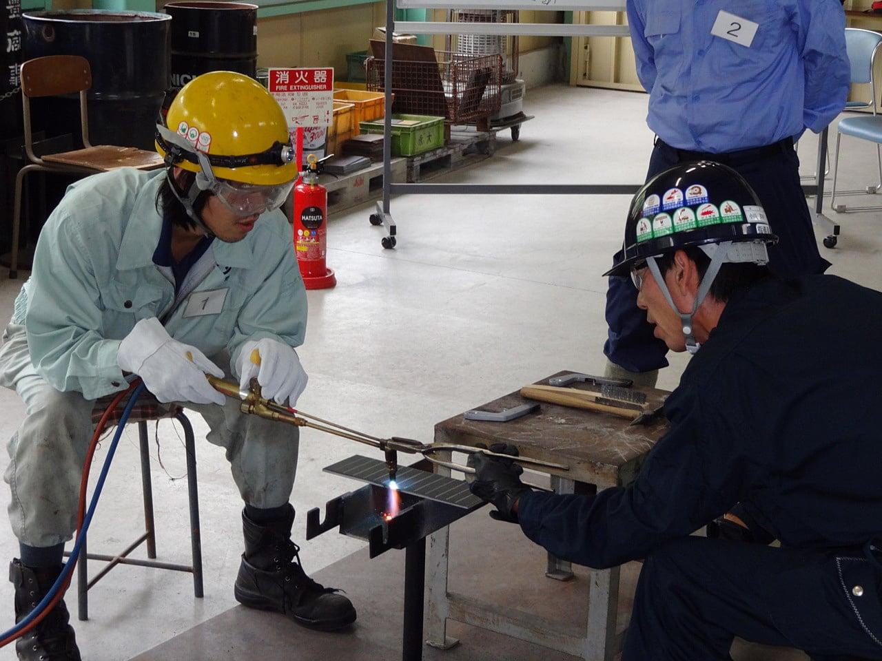 ガス 溶接 技能 講習 ガス溶接技能講習 - 一般社団法人大阪溶接協会